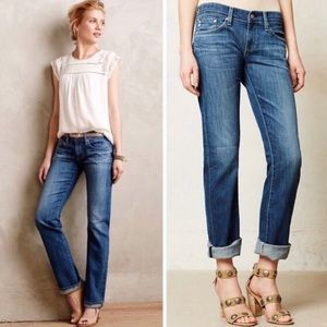 AG the Tomboy relaxed straight jeans size 25R